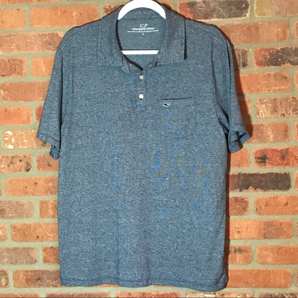 Vineyard Vines Other - Vineyard Vines Blue Polo Shirt L